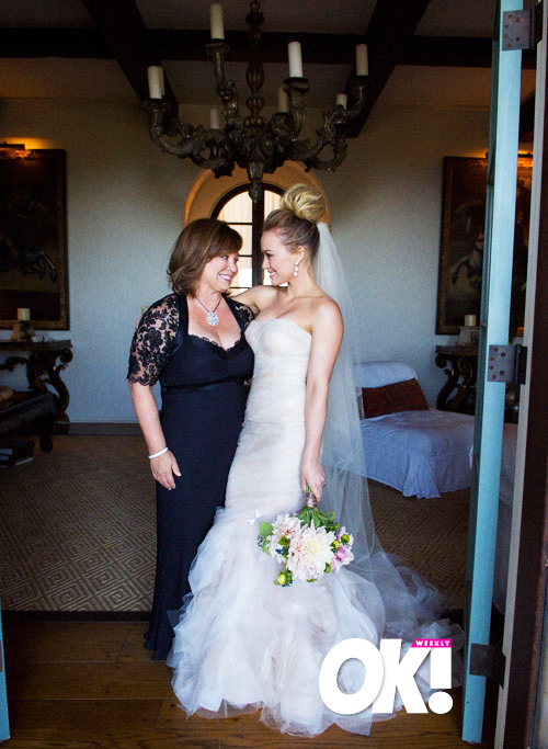 OK EXCLUSIVE PICS Bride Hilary Duff Dazzles On Her Big Day