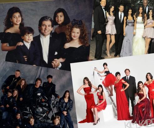 Kardashian Christmas Cards.Kardashian Christmas Cards Through The Years Roashina