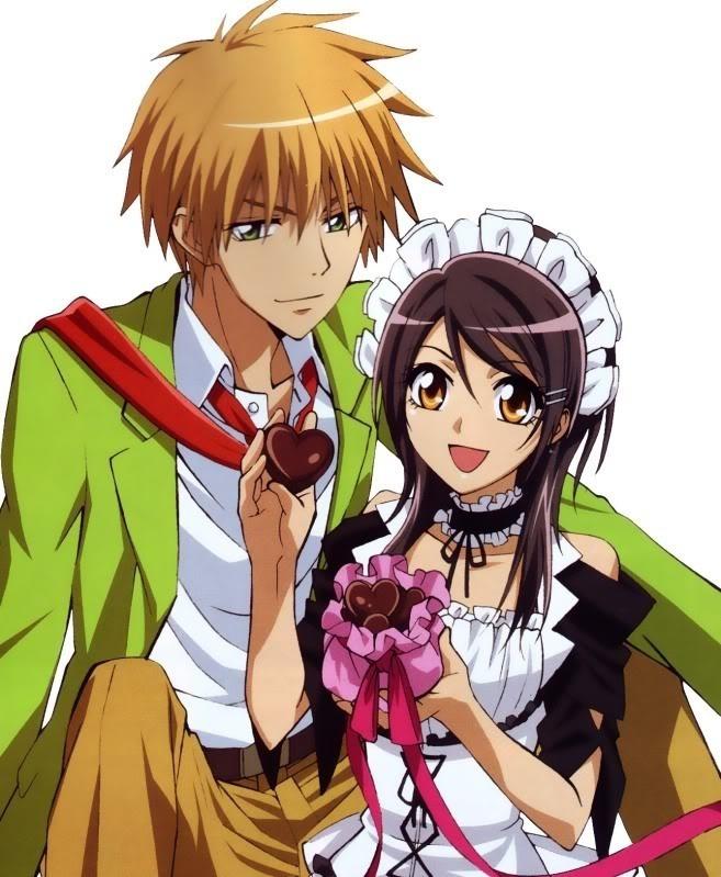Kaichou WA Maid Sama Anime