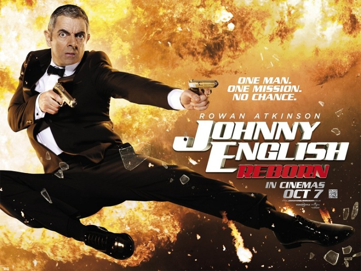 FILM REVIEW: JOHNNY ENGLISH REBORN